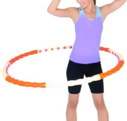 El hula hoop sirve para bajar de peso y tiene muchos beneficios