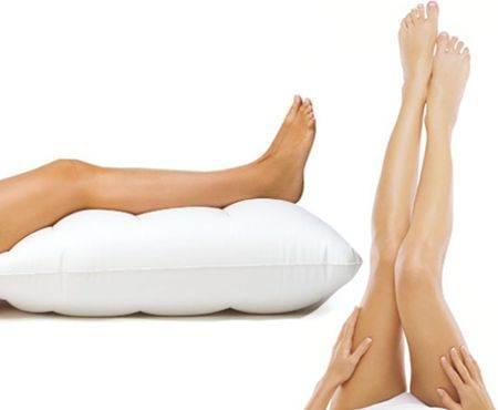 ¿En qué ayuda levantar las piernas?