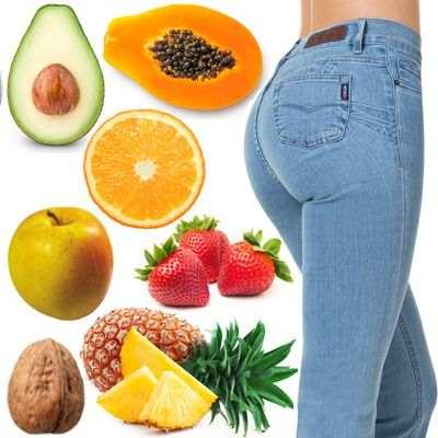 ¿Con que fruta o verdura crecen los glúteos?