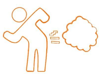¿Por qué los seres humanos tenemos gases y se infla el estómago?