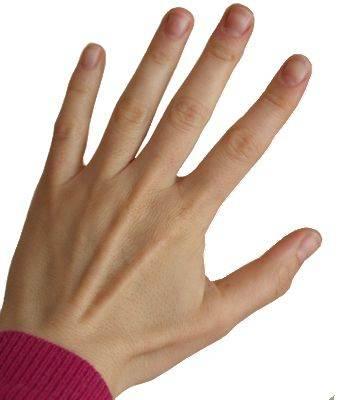 No me gustan mis manos, mis manos son feas