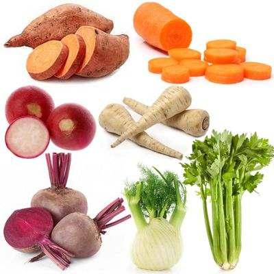Alimentos considerados raíces, las raíces que nos comemos