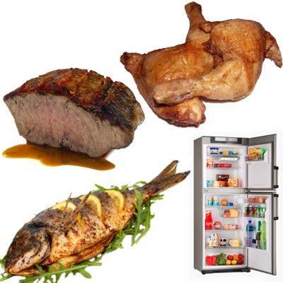Porque se debe refrigerar la carne si no es consumida