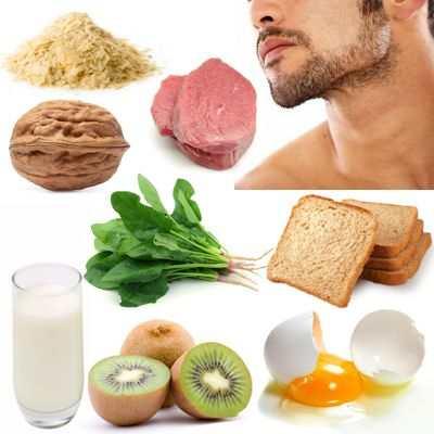 Alimentos que te hacen crecer la barba que ayudan a su crecimiento