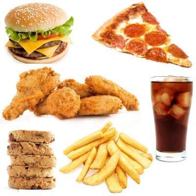 ¿Qué alimentos son ricos pero no saludables?