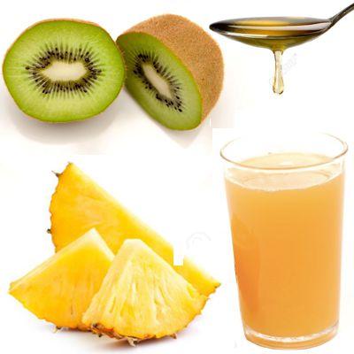 Jugo natural rico en antioxidantes