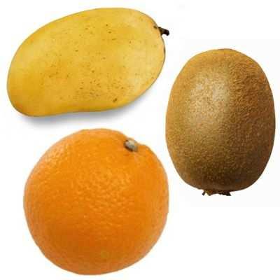 Bondades de un delicioso jugo de mango con naranja y kiwi
