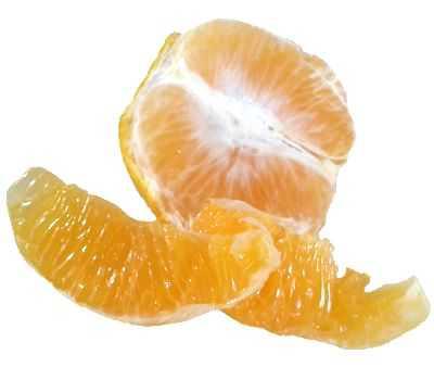 La pulpa de naranja hace subir de peso