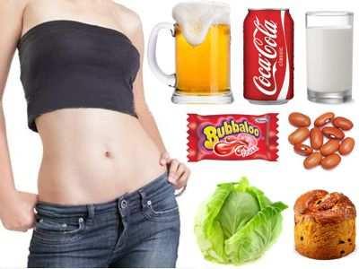 ¿Cuáles son los alimentos prohibidos porque te inflaman el estómago?
