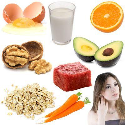 Nutrientes que ayudan a la piel