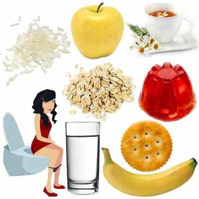 ¿Qué alimentos podemos comer cuando tenemos diarrea?
