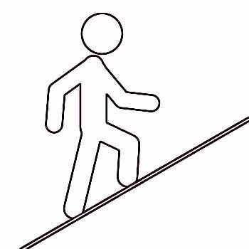 Beneficios de caminar y subir cuestas corriendo