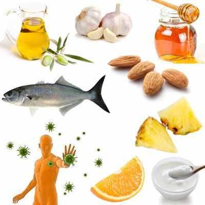 Alimentos que aportan elementos necesarios para fortalecer el sistema inmunológico