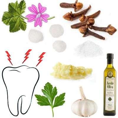 Remedios caseros para que se quite el dolor de muelas