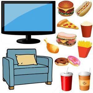 ¿Comer viendo televisión engorda?