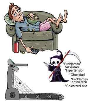 Lo malo del sedentarismo