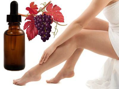 Beneficios de la vid roja para las piernas cansadas