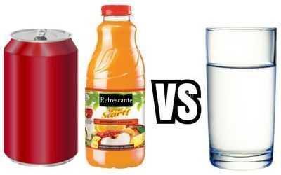 Porque debemos consumir agua natural en lugar de bebidas azucaradas