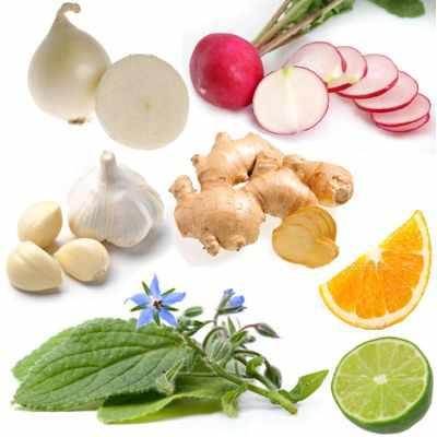 Alimentos para proteger y fortalecer las vías respiratorias