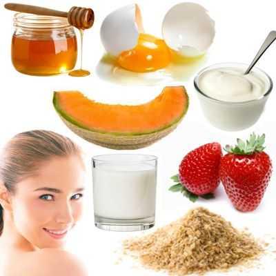 Recetas de mascarillas para piel normal y para nutrir la piel del rostro