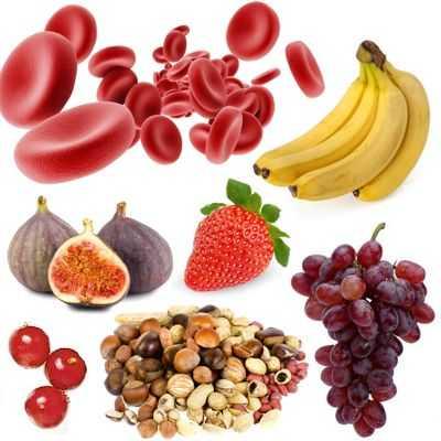 Frutas que ayudan a aumentar la hemoglobina