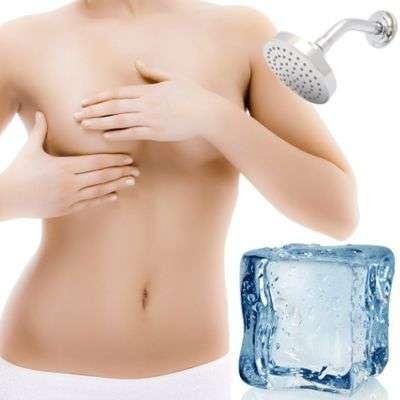 Beneficios del agua fría para los senos ¿por qué lavarse los senos con agua fría?