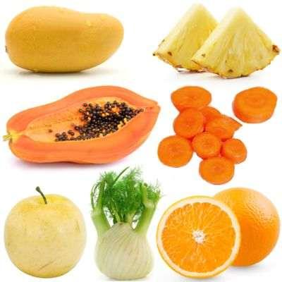 Jugos para mejorar la digestión con piña, hinojo, betabel, col, toronja y zanahoria