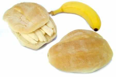 Propiedades y beneficios de la torta de plátano Telera con plátano