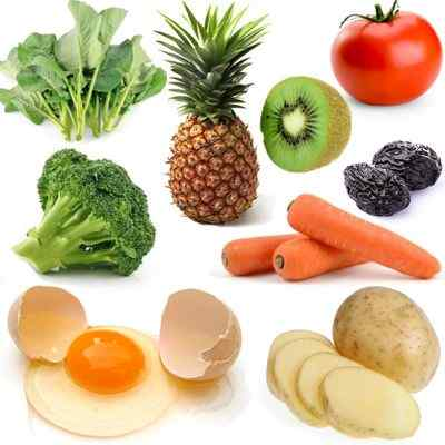 Alimentos para el buen funcionamiento del cuerpo humano