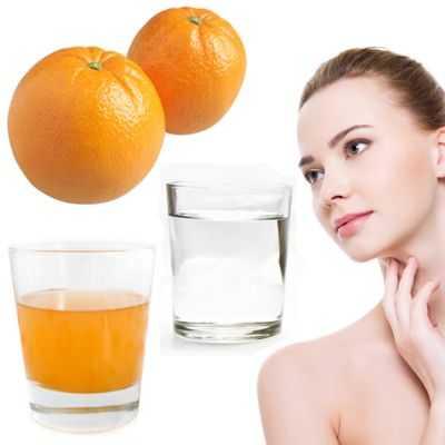 Beneficios del jugo de naranja y del vinagre de sidra para tener un cutis de porcelana