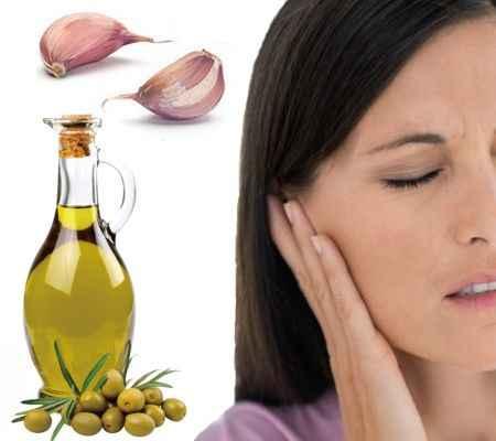 Como usar el ajo y el aceite de oliva para infección de oído