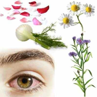 El té de agua manzanilla, hinojo, aciano, rosas y maravilla sirve para la conjuntivitis