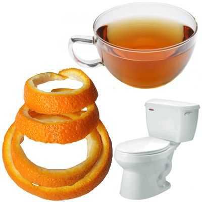 Té de cáscara de naranja para la diarrea