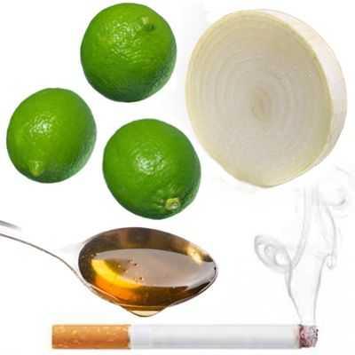 El jugo de limón y la cebolla es buena para dejar de fumar