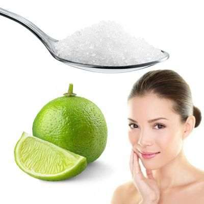 ¿Puedo exfoliar mi cara con azúcar y limón?