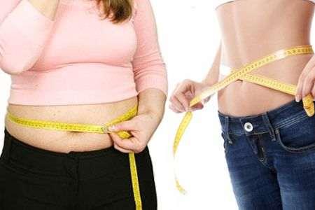 Porque hay personas que (incluso comen mucho) no engordan y otras que (aunque comen poco) si engordan