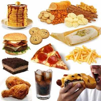 Porque es importante evitar el consumo excesivo de comida chatarra