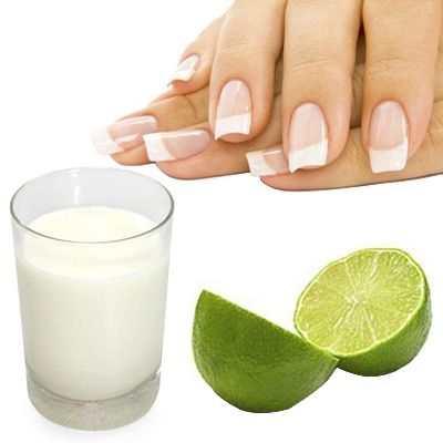 La leche es buena, ayuda y sirve para las uñas