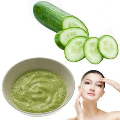 ¿Cómo hacer puré de pepino para la cara y que beneficio tiene?