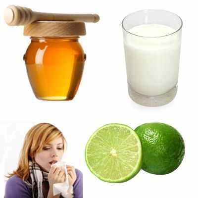Beneficios de un vaso de leche con miel y limón que sirve para la tos
