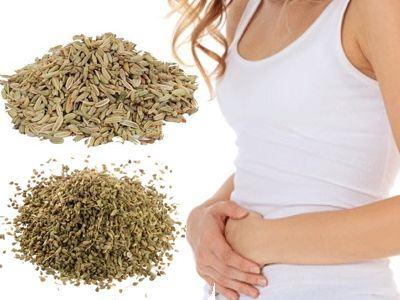 Propiedades de las semillas de hinojo y anís para los gases