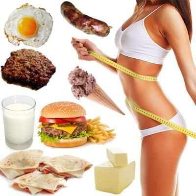 ¿Comer sin grasa adelgaza?