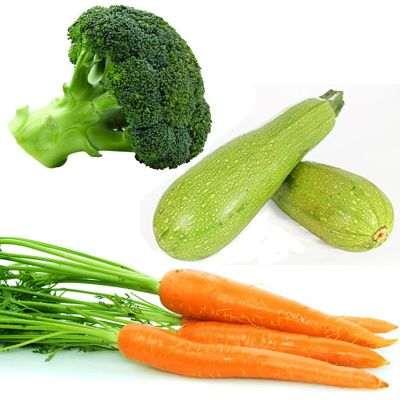 3 verduras contra el cáncer: calabaza, zanahorias y brócoli