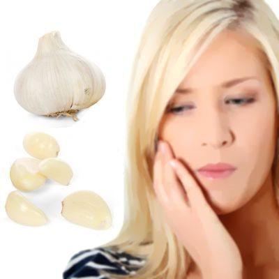 Propiedades del ajo para curar y aliviar el dolor de muelas