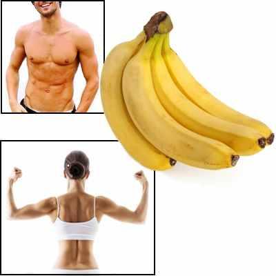 El banano es bueno para aumentar masa muscular