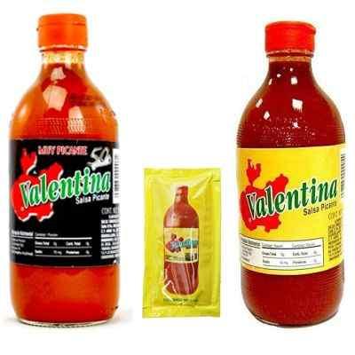 ¿De qué material o ingredientes está hecha realmente la salsa valentina?