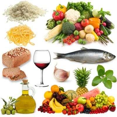 ¿Para quién va dirigida la dieta mediterránea? y ¿qué alimentos son más importantes?