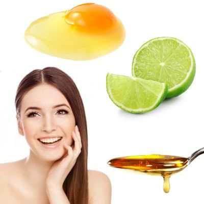 Beneficios de la clara de huevo miel y limón para la cara