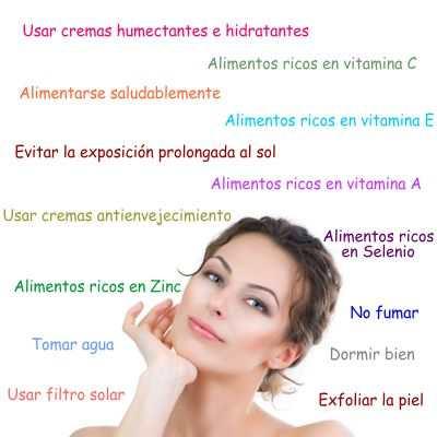 Secretos para luchar contra las arrugas y cuidar la piel para no tener arrugas