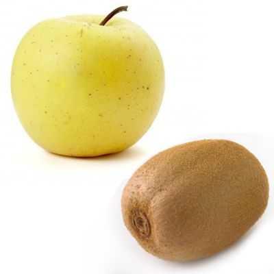 Beneficios del jugo de manzana y kiwi en ayunas
